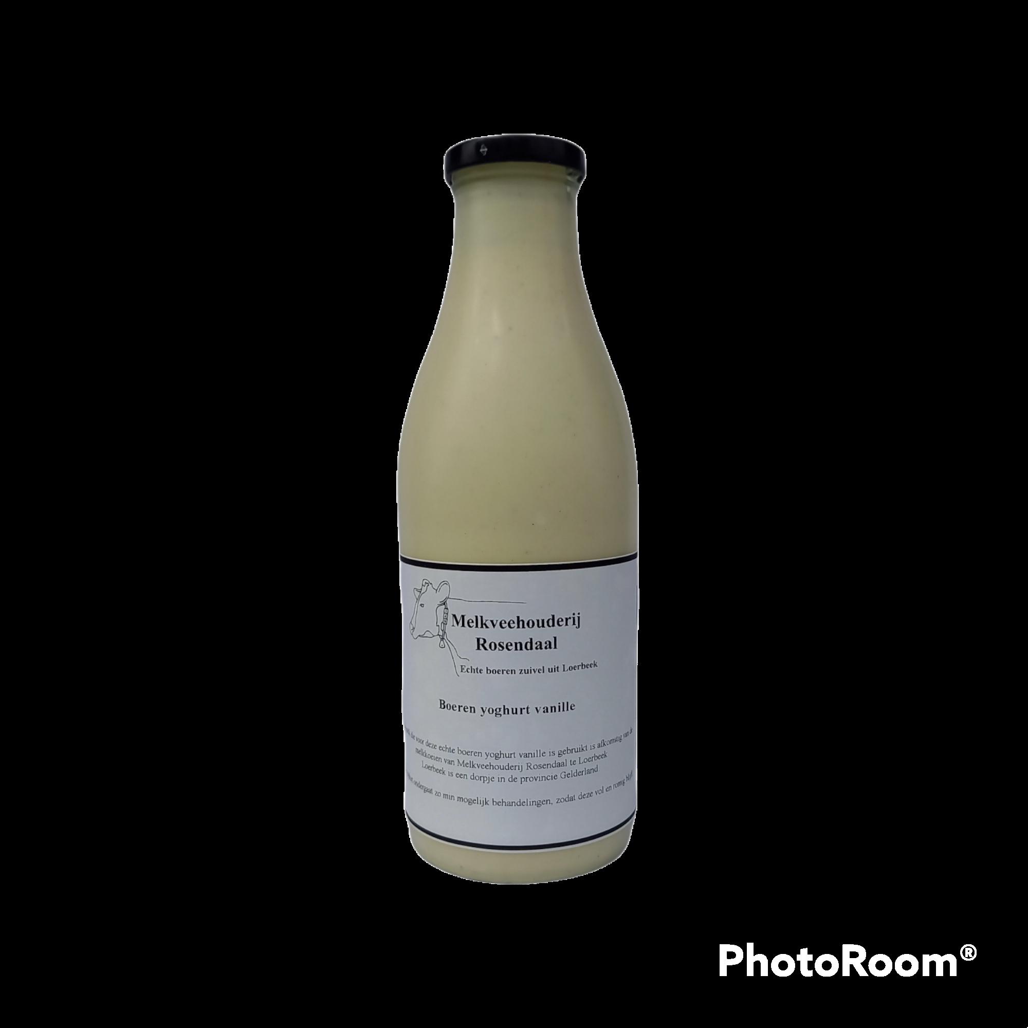 Boeren yoghurt vanille groot 2